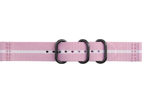 Samsung Premium Nato Armband Strap Studio, 20mm Gear Sport/Galaxy, pink-white