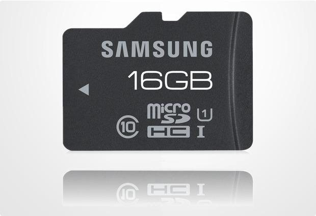 Samsung Pro microSDHC Card 16GB UHS-I Class 10