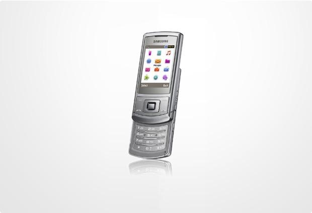 Samsung S3500 metallic silver
