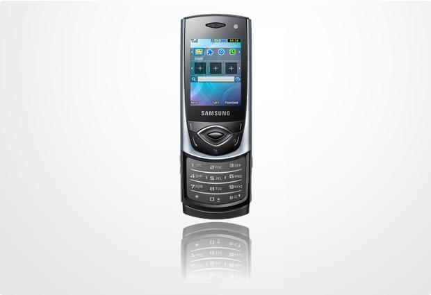 Samsung S5530, titangrau