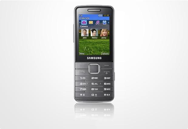 Samsung S5610, silber-metallic
