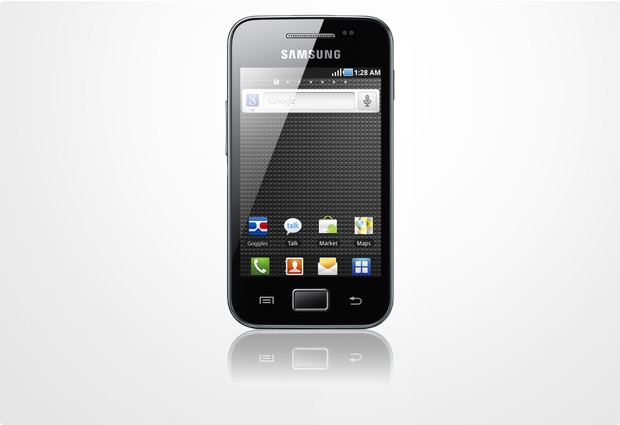 Samsung S5830 Galaxy Ace, onyx black