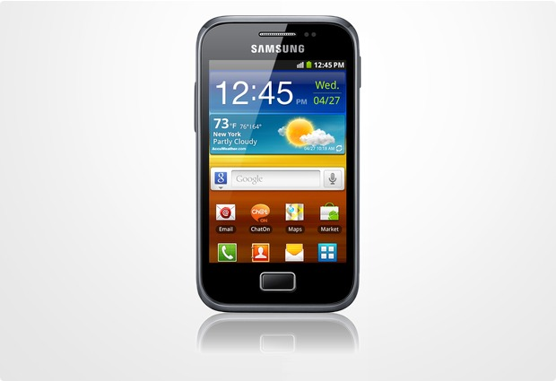 Samsung Galaxy Ace Plus, dark-blue
