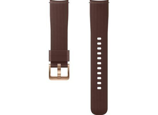 Samsung Silicone Armband (20 mm), Galaxy Watch, brown