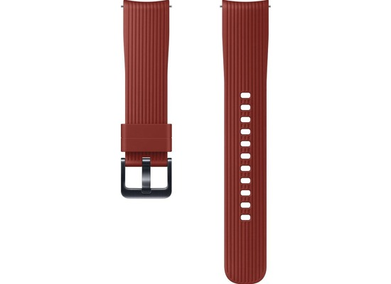 Samsung Silicone Armband (20 mm), Galaxy Watch, red