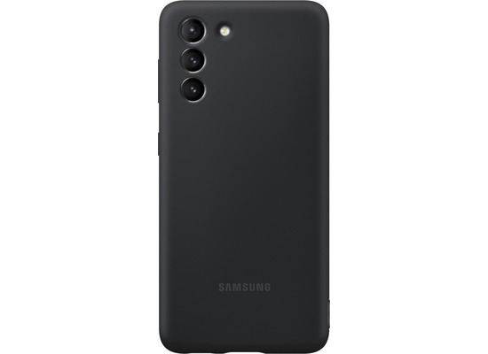 Samsung Silicone Cover EF-PG991 für Galaxy S21, Black
