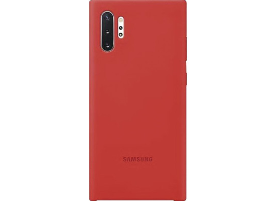 Samsung Silicone Cover SM-N975F / Galaxy Note10+, red
