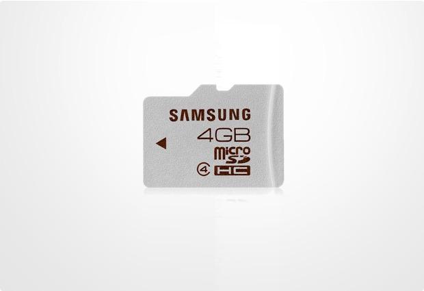 Samsung Standard microSD Card 4GB Class 4