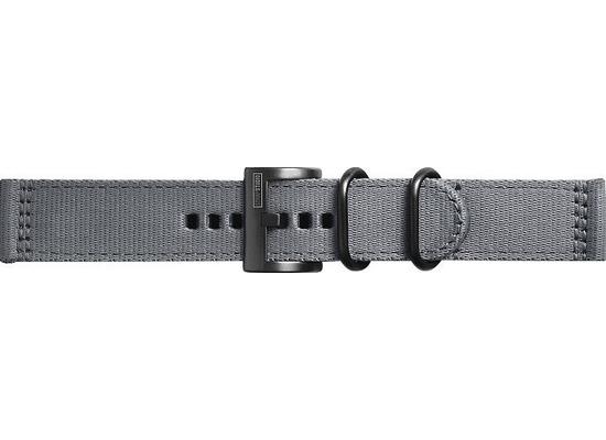 Samsung Textil Armband Field von Strap Studio (22 mm), Galaxy Watch, grey