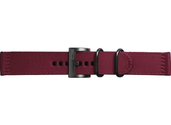Samsung Textil Armband Field von Strap Studio (22 mm), Galaxy Watch, red