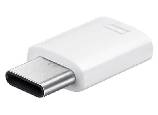 Samsung USB Typ C auf Micro USB Adapter - Galaxy Note 7 - white
