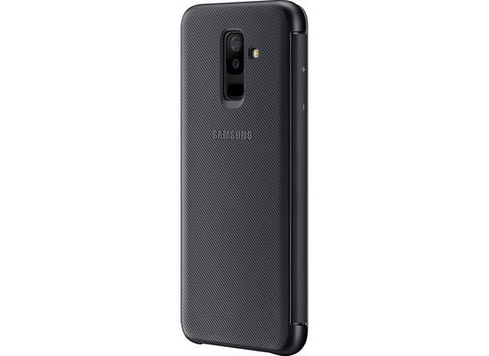 Samsung Wallet Cover, Galaxy A6+, Schwarz