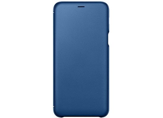 Samsung Wallet Cover Galaxy A6 Plus (2018), blau