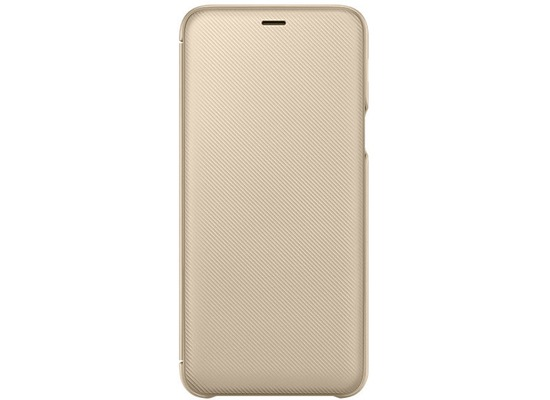 Samsung Wallet Cover Galaxy A6 Plus (2018), gold