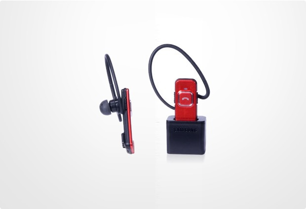 Samsung Bluetooth Headset WEP-350, rot