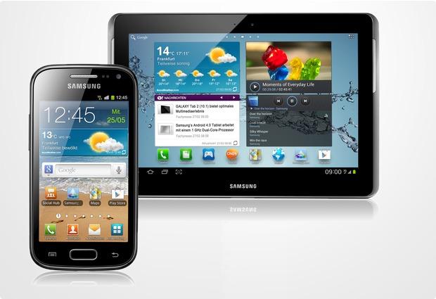 Samsung Spar Bundle – Galaxy Ace 2 + GalaxyTab2 10.1 UMTS