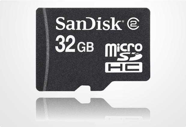 Sandisk microSD HC 32GB