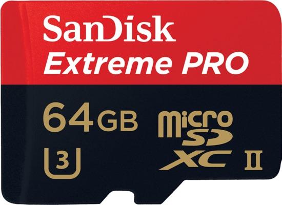 Speicherkarten, Speichermedien - Sandisk MicroSDXC UHS II 64GB Extreme PRO fuer Acer Iconia One 10 (B3 A20B), Iconia Tab W501P, Predator 8 (GT 810), Alcatel onetouch IDOL 3 (47) 6039, IDOL 3 (55) 6045, IDOL 3 6039Y, IDOL 3 6045Y, IDOL 4 Pro 6077X, IDOL 5 (6058D), IDOL 5S (6060X), POP 4S, POP 8P321, Plus 10, Shine li...  - Onlineshop Telefon.de