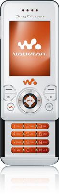 Sony Ericsson W580i Style White
