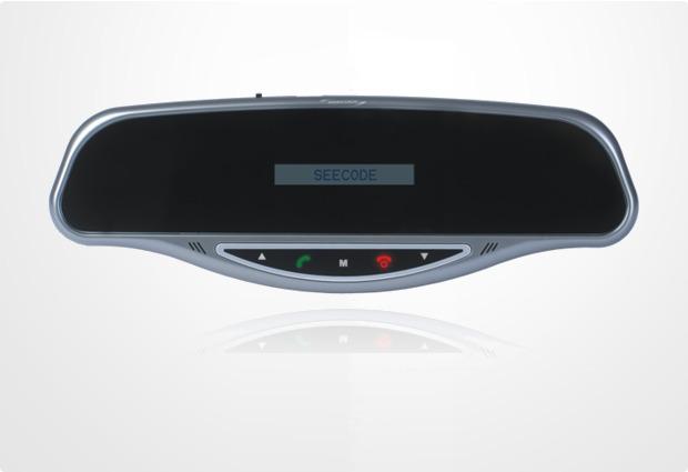 Seecode Bluetooth Freisprecheinrichtung Vossor Touch (Rückspiegel)