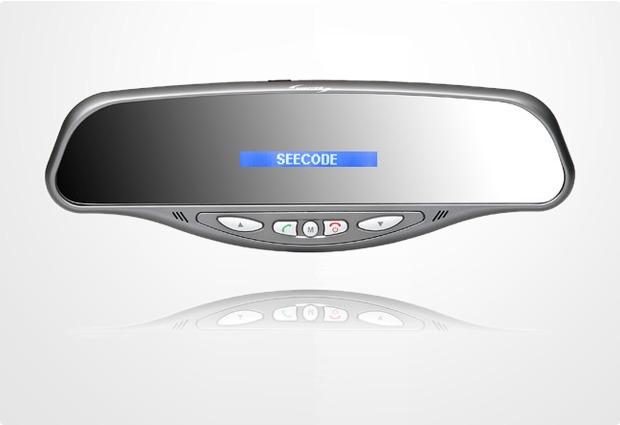 Seecode Bluetooth Freisprecheinrichtung Vossor Business (Rückspiegel)