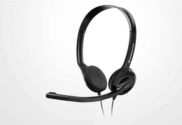 Sennheiser VoIP-Headset PC 31 Binaural