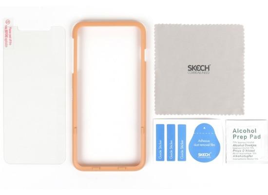 Skech Essential Tempered Glass Displayschutz, Apple iPhone 11 / XR