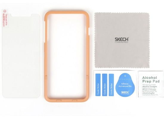 Skech Essential Tempered Glass Displayschutz, Apple iPhone XS Max