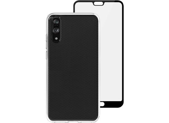 Skech Matrix SE Case + Glas Displayschutz, Huawei P20, transparent, SK17-BD-MTX