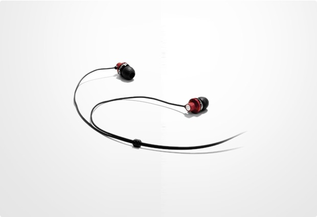 Skullcandy In-Ear Stereo Kopfhörer Titan, schwarz-rot