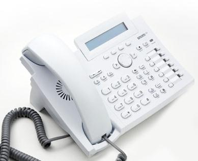 snom 320 VoIP Snow Edition
