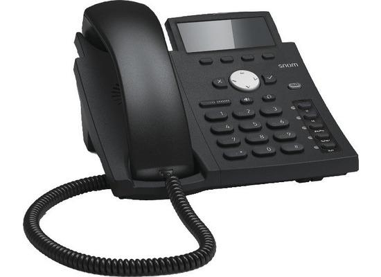 snom D305 VoIP-Telefon (SIP), schwarz, POE, ohne Netzteil