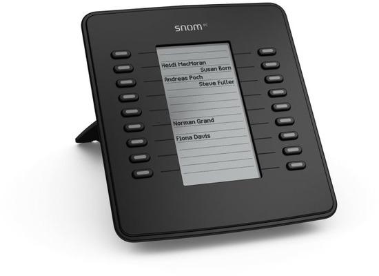 snom D7 Tastaturerweiterungsmodul Black