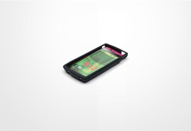 Silikonhülle für Sony Ericsson Xperia Arc, schwarz