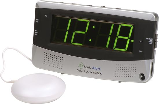 Sonic Alert SonicBOOM Dual Alarm Clock