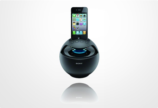 Sony 360� Docking Sound System RDP-V20IP, schwarz