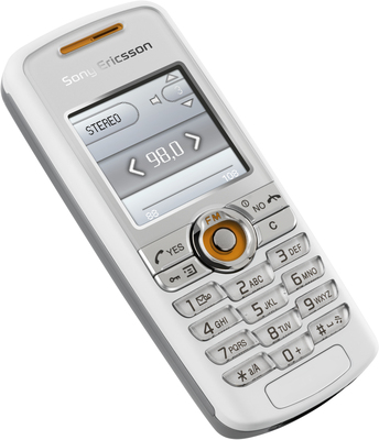 Sony Ericsson J230i Cosmo White