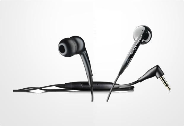 Sony Ericsson MH650 Stereo-Headset, schwarz