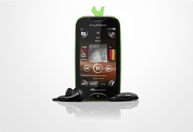 Sony Ericsson Mix Walkman, schwarz-gr�n