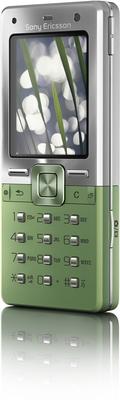 Sony Ericsson T650i Growing Green