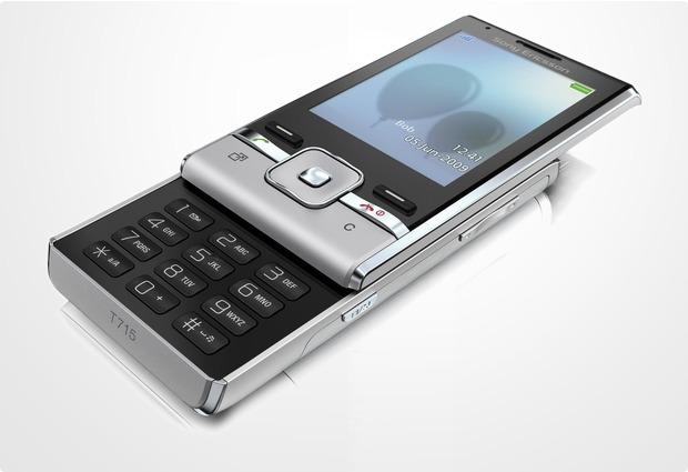 Sony Ericsson T715 Galaxy Silver