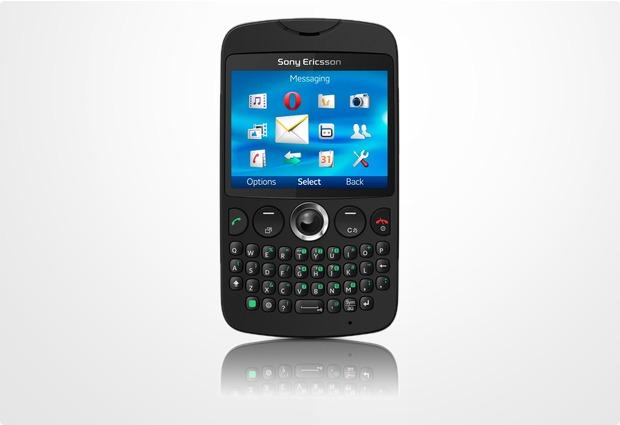 Sony Ericsson txt, schwarz