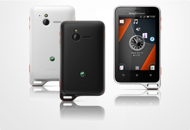 Sony Ericsson Xperia active, orange