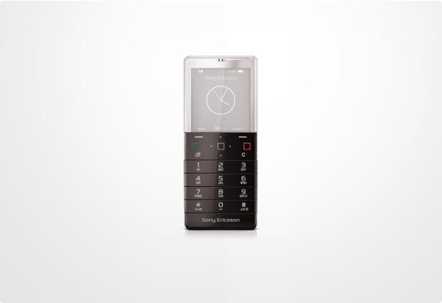 Sony Ericsson Xperia Pureness X5, schwarz