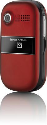 Sony Ericsson Z320i, Crimson Red