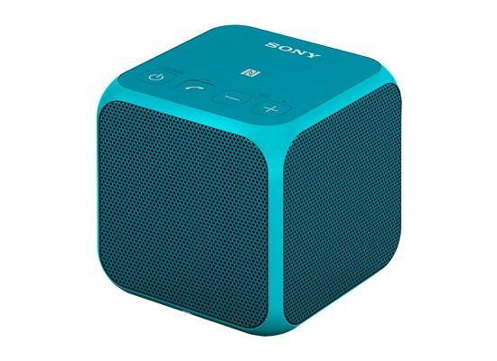 sony srs x11l bluetooth lautsprecher mit nfc blau bei. Black Bedroom Furniture Sets. Home Design Ideas