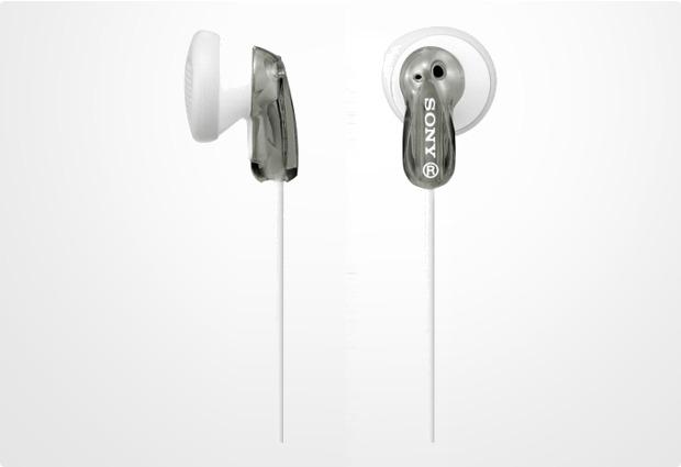 Sony Stereo Kopfhörer MDR-E9, grau-transparent