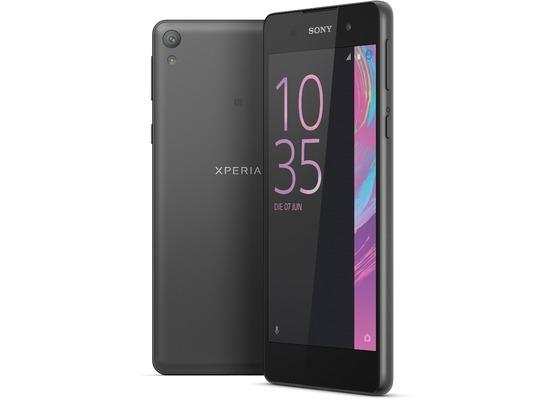 Sony Xperia E5, schwarz