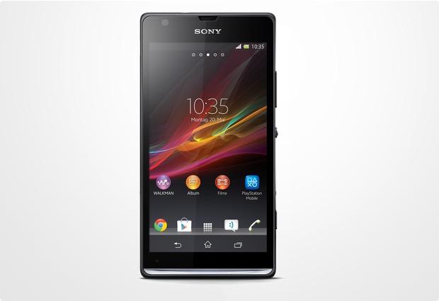 Sony Xperia SP, schwarz