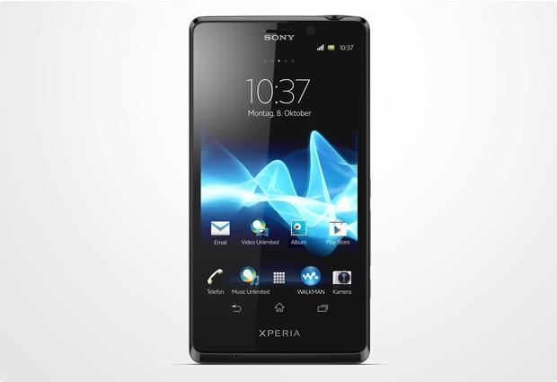 Sony Xperia T, schwarz